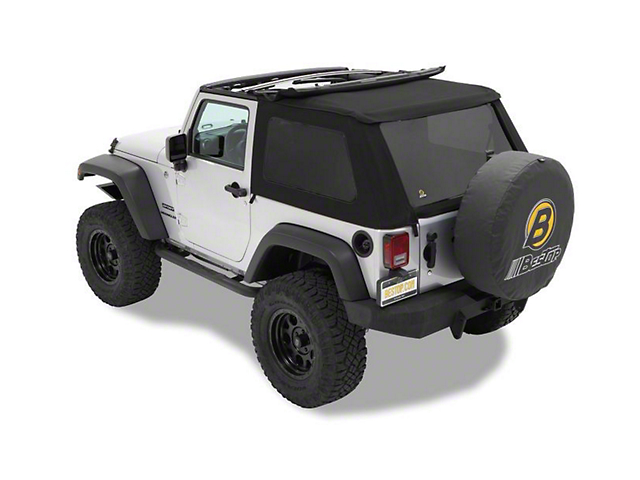 Bestop Trektop NX Replace-a-Top - Black Twill (07-18 Jeep Wrangler JK 2 Door)