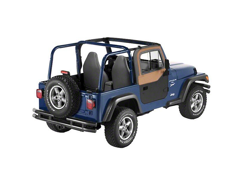 Bestop Upper Door Sliders for Bestop or Factory Soft Tops - Spice (97-06 Jeep Wrangler TJ)