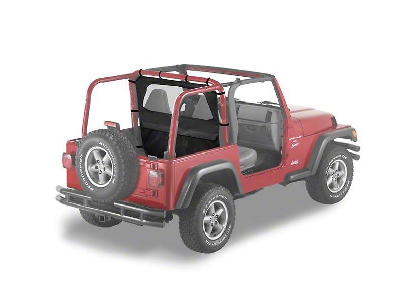 Bestop Windjammer - Black Denim (97-02 Jeep Wrangler TJ)