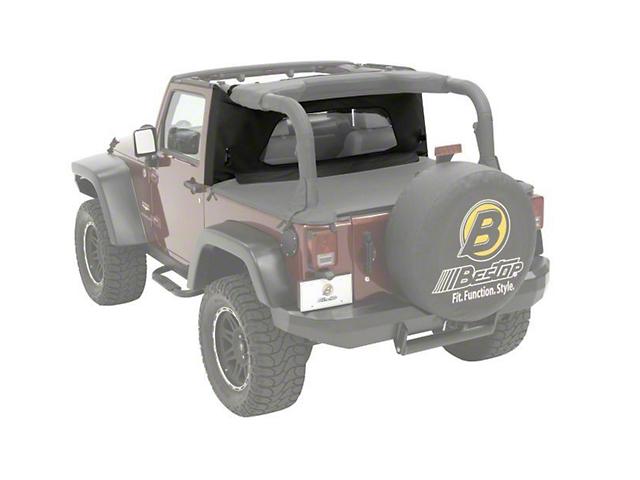 Bestop Wrap-Around Windjammer - Black Diamond (03-06 Jeep Wrangler TJ)