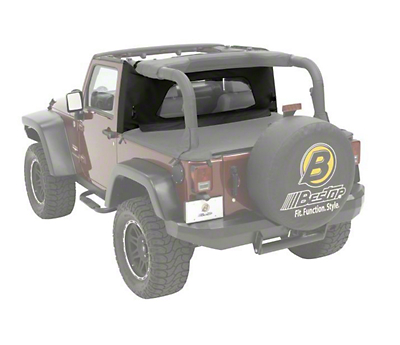 Bestop Wrap-Around Windjammer - Black Diamond (03-06 Jeep Wrangler TJ)