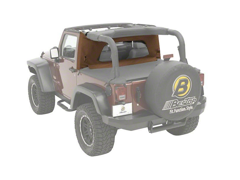 Bestop Wrap-Around Windjammer - Spice (97-02 Jeep Wrangler TJ)