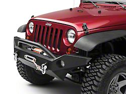 OR-Fab Full Width Front Bumper w/ Center Winch Mount (07-18 Jeep Wrangler JK)