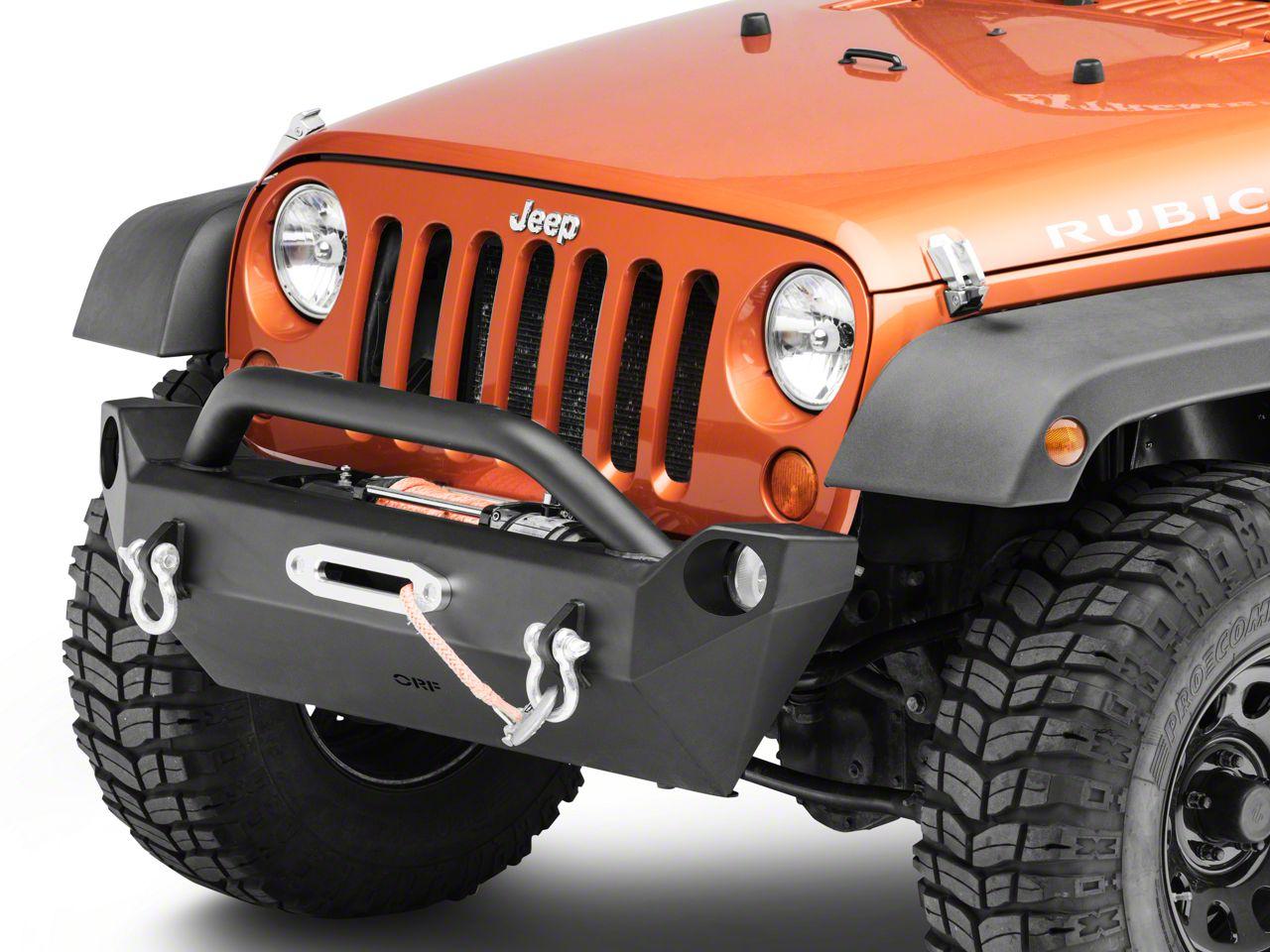 OR-Fab Mid-Width Front Bumper (07-18 Jeep Wrangler JK)
