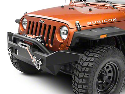 OR-Fab Jeep Wrangler Full Width Front Bumper w/ Center Winch