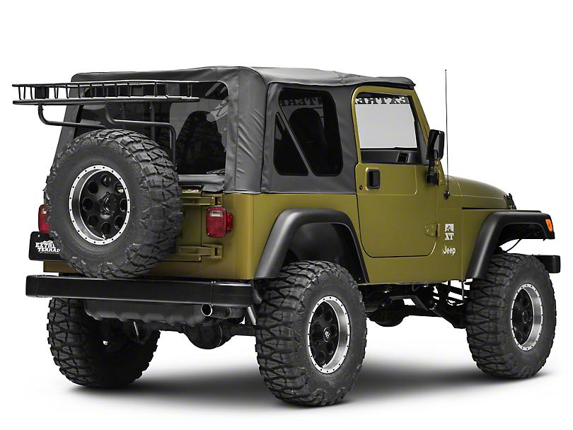 Rugged Ridge Easy Load Trail Rack (87-02 Jeep Wrangler YJ & TJ)