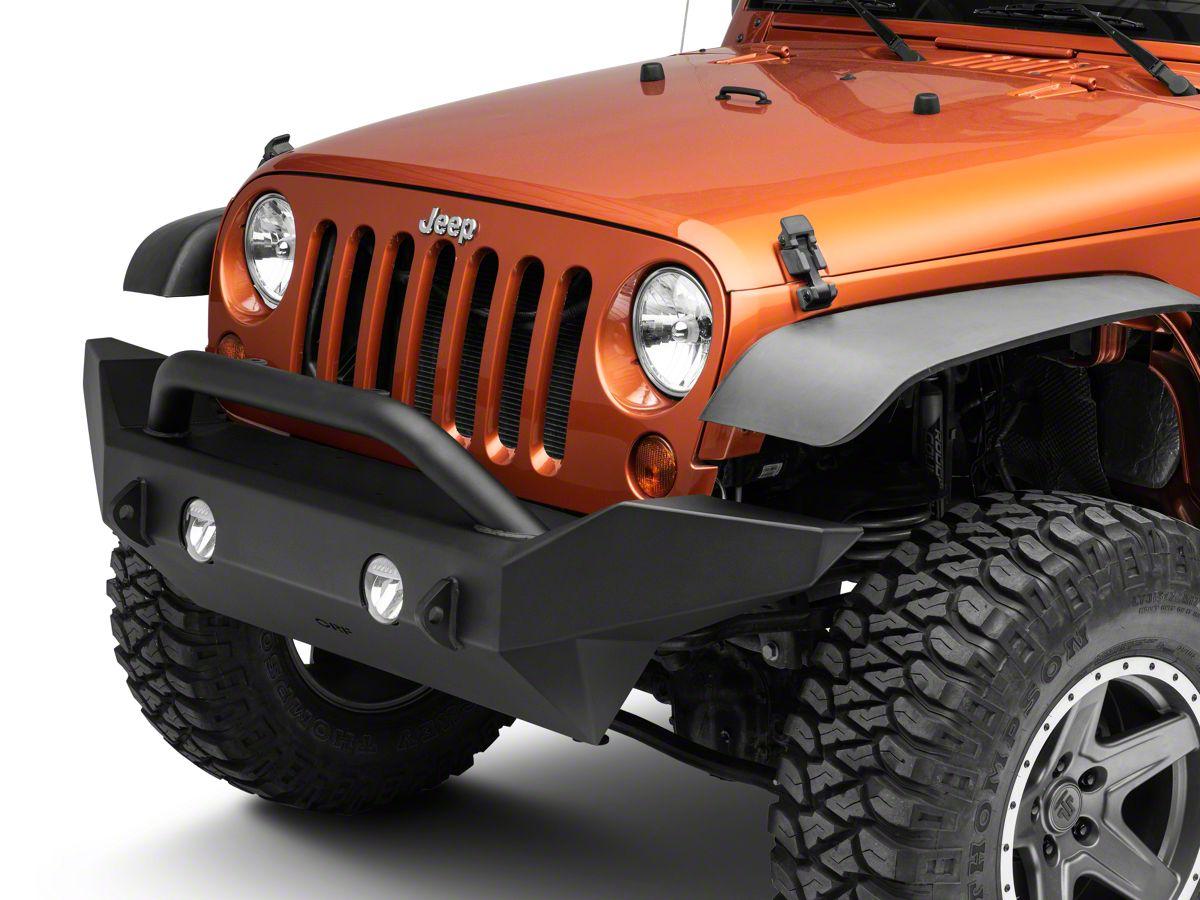 Jeep Wrangler Jk Front Bumper >> Or Fab Full Width Front Bumper 07 18 Jeep Wrangler Jk