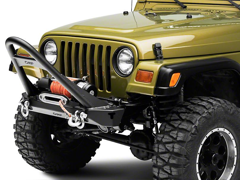 OR-Fab Front Winch Bumper w/ Stinger (97-06 Jeep Wrangler TJ)