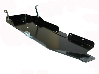 Skid Row Off-Road Gas Tank Skid Plate (07-18 Wrangler JK 2 Door)