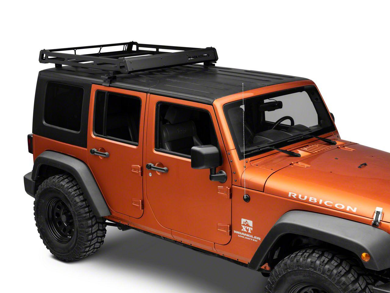 Jeep Wrangler No Drill Rooftop Rack 07 18 Jeep Wrangler Jk
