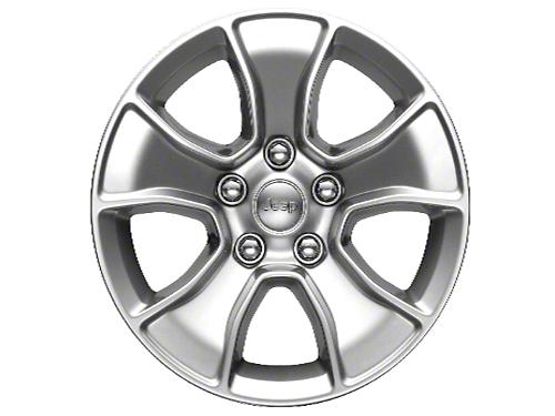 Mopar Gladiator Silver Wheels (07-18 Wrangler JK; 2018 Wrangler JL)