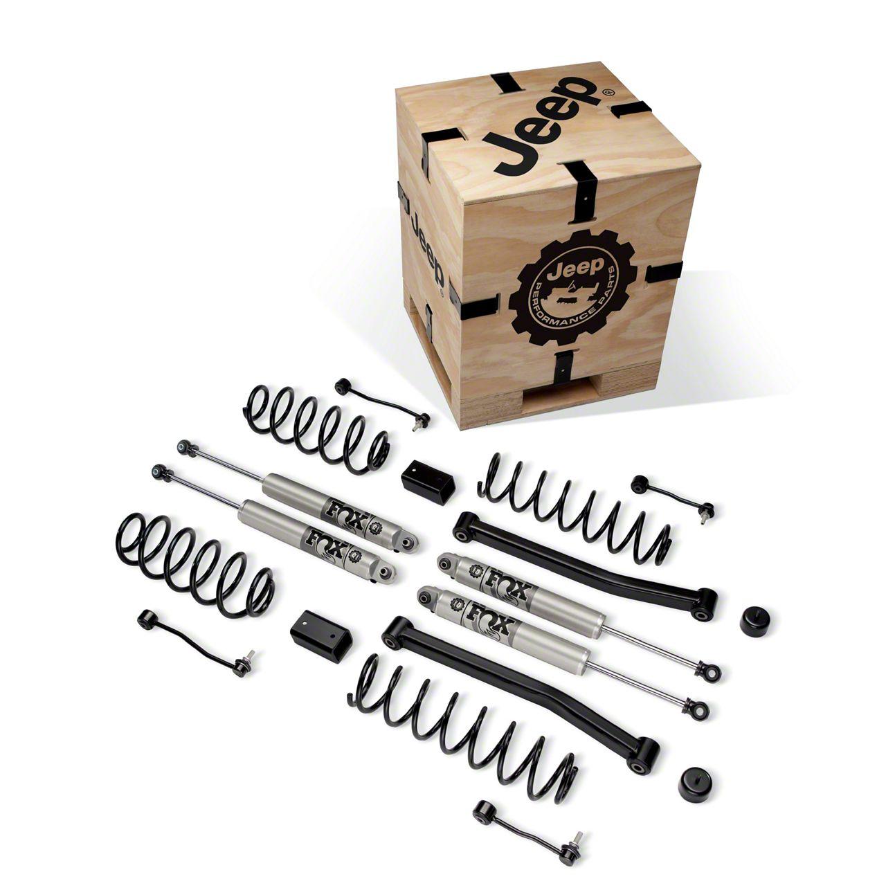 Mopar 2 in. Lift Kit w/ Fox Shocks (18-19 3.6L Jeep Wrangler JL 4 Door)