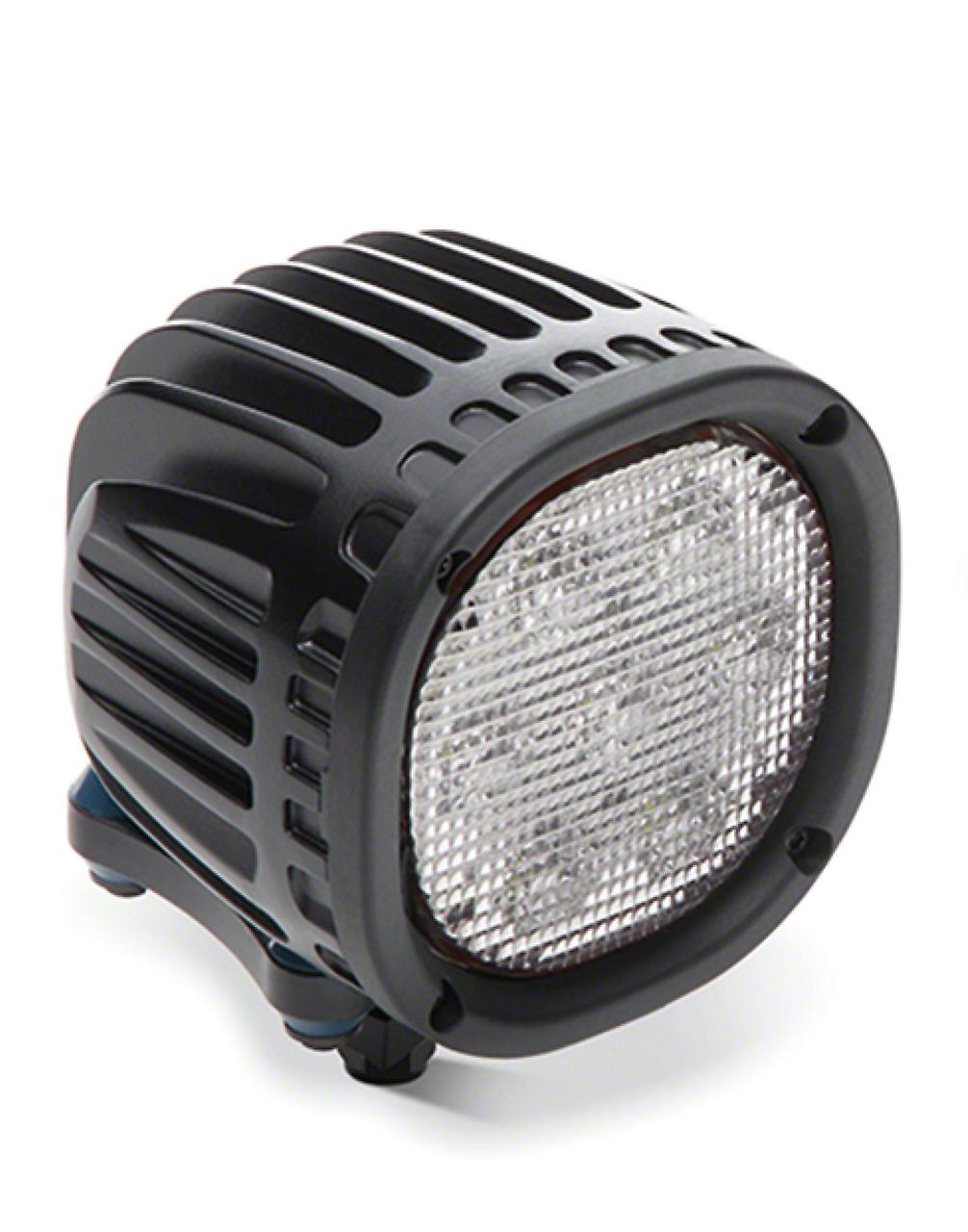 Mopar 7 in. Round LED Lights - Pair (2018 Jeep Wrangler JL)