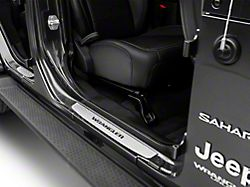 Mopar Door Sill Guards - Stainless Steel (18-20 Jeep Wrangler JL 4 Door)