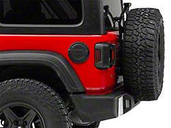 Mopar Black Fuel Door w/ Jeep Logo (18-19 Jeep Wrangler JL)