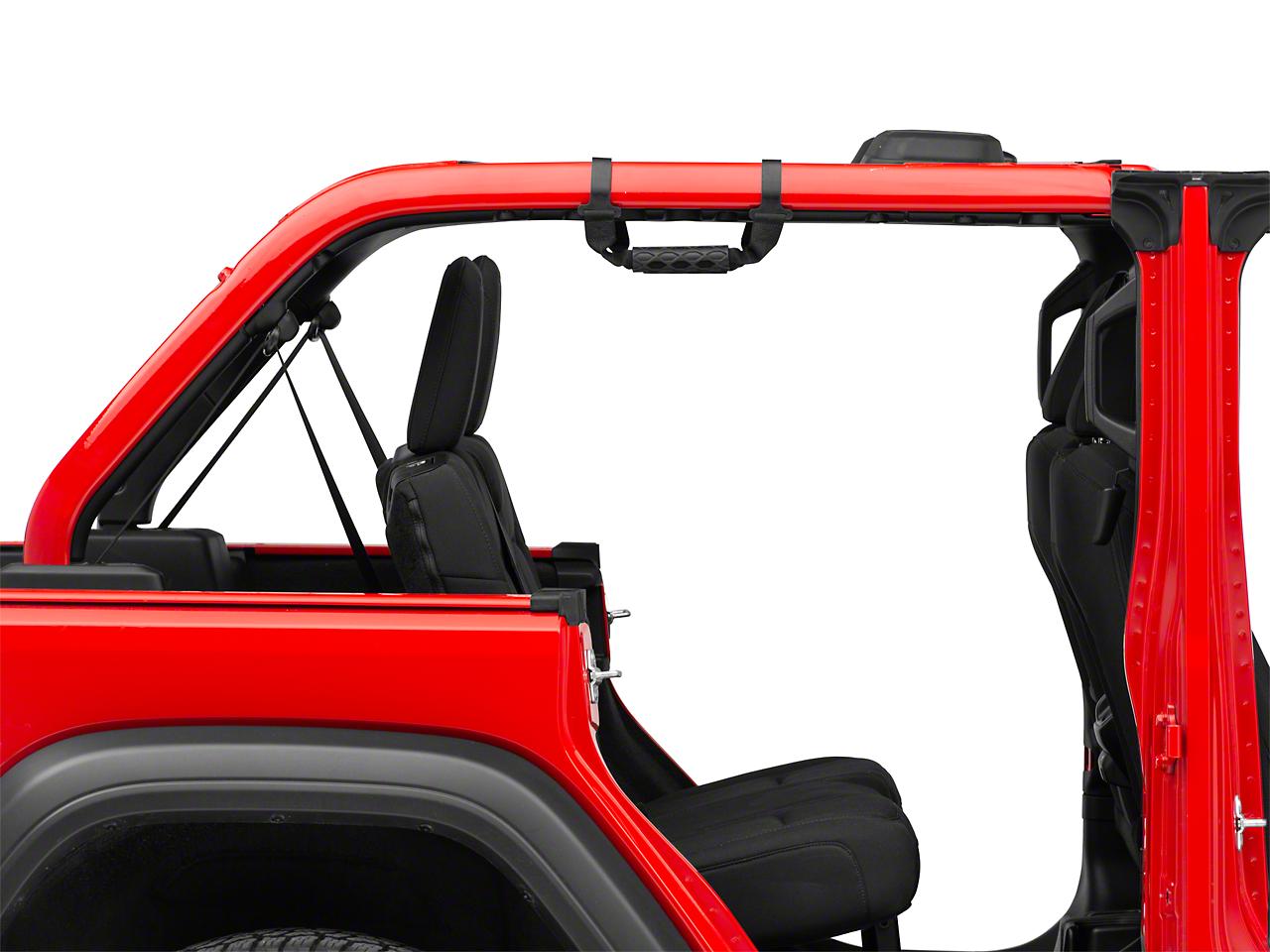 Mopar Rear Grab Handles (2018 Jeep Wrangler JL 4 Door)