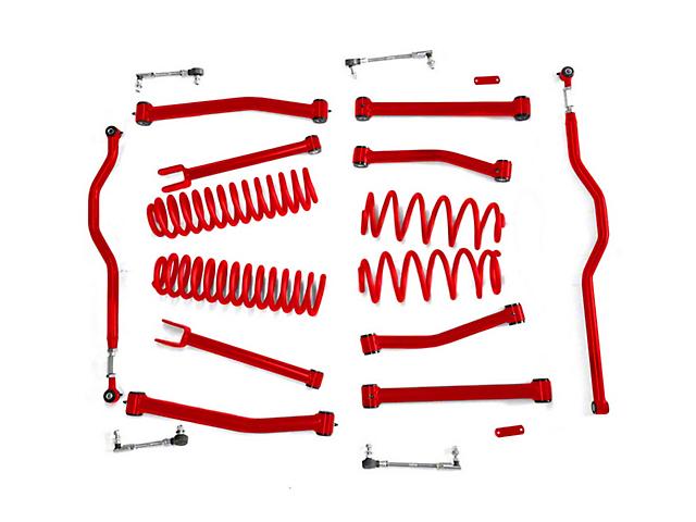 Steinjager 4 in. Advanced Lift Kit - Red Baron (07-18 Jeep Wrangler JK)