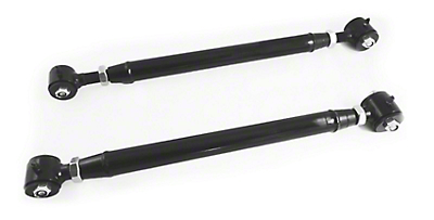 Steinjager Adjustable Rear Upper Control Arms for 2-8 in. Lift - Black (97-06 Jeep Wrangler TJ)