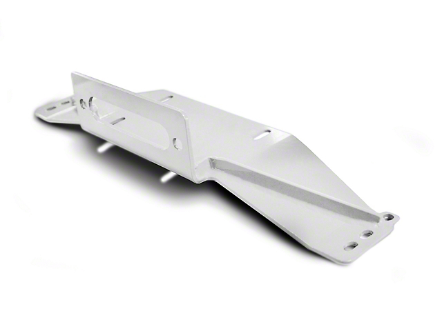 Steinjager Bolt-On Winch Plate - Cloud White (97-06 Jeep Wrangler TJ)