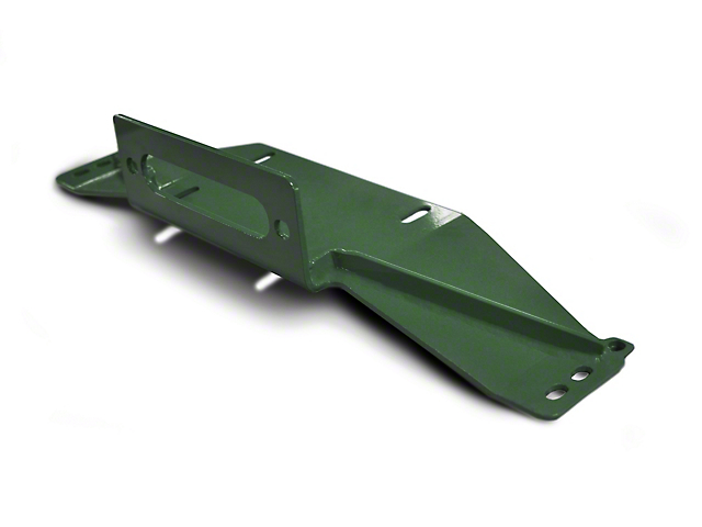 Steinjager Bolt-On Winch Plate - Locas Green (97-06 Jeep Wrangler TJ)