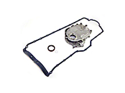 Omix-ADA Engine Timing Cover w/ Molded Oil Pan Gasket (87-92 4.0L or 4.2L Wrangler YJ)