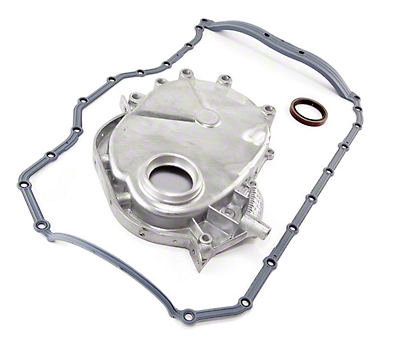 Omix-ADA Engine Timing Cover w/ Molded Rubber Oil Pan Gasket (87-93 2.5L Wrangler YJ)