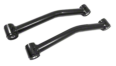 Steinjager Fixed Rear Upper Control Arms for 2.5-4 in. Lift - Black (07-18 Jeep Wrangler JK)