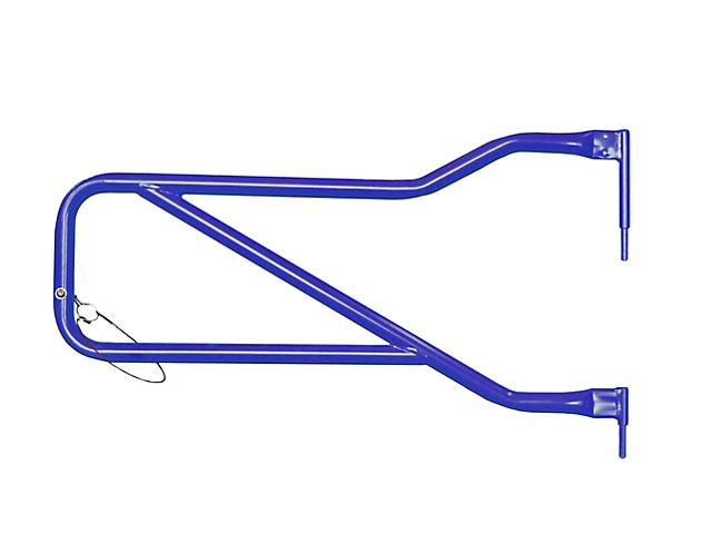 Steinjager Front Trail Tube Doors - Southwest Blue (07-18 Jeep Wrangler JK)