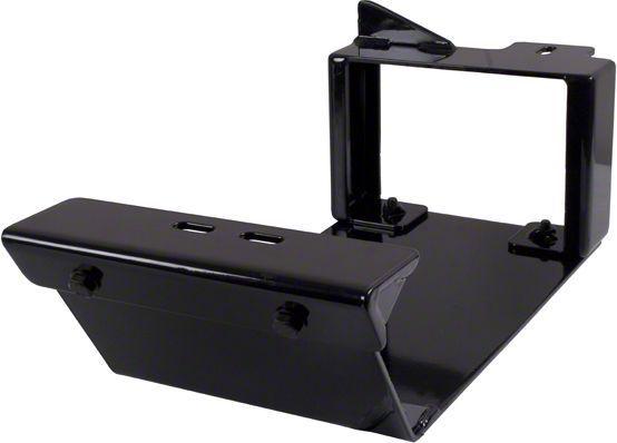 Rugged Ridge 18003.40 Black Evaporator Tank Skid Plate for 2007-2018 Jeep Wrangler Models