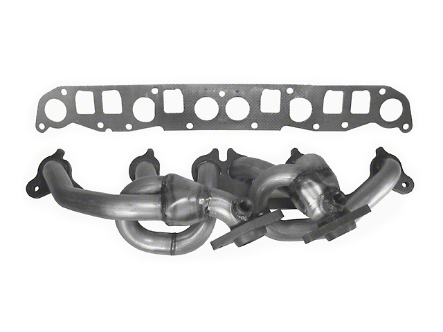 Rugged Ridge 409 Stainless Steel Exhaust Header (00-06 4.0L Jeep Wrangler TJ)