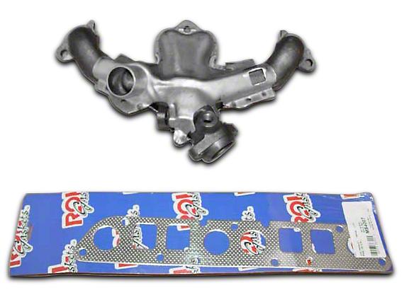 Omix-ADA Exhaust Manifold Kit w/ Gaskets (87-90 2.5L Jeep Wrangler YJ)