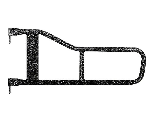 Steinjager Trail Tube Doors - Textured Black (97-06 Jeep Wrangler TJ)