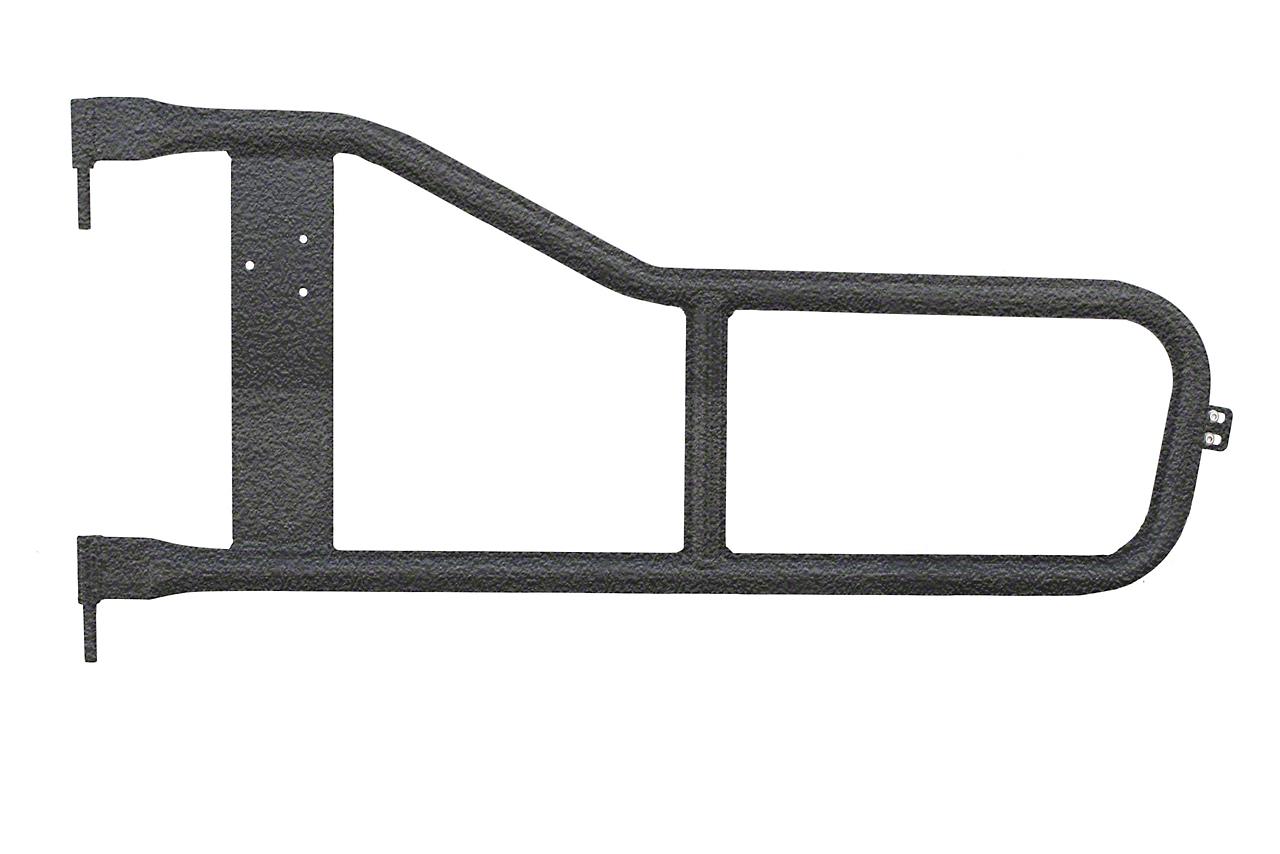Steinjager Trail Tube Doors - Textured Black (87-95 Jeep Wrangler YJ)