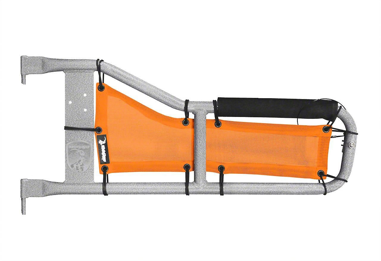 Steinjager Tube Door Covers - Orange (87-95 Jeep Wrangler YJ)