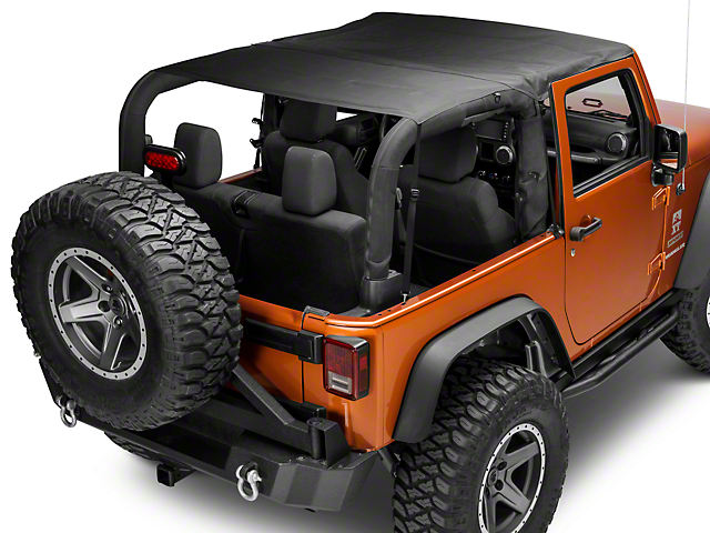 Smittybilt Extended Top - Black Diamond (07-09 Jeep Wrangler JK 2 Door)
