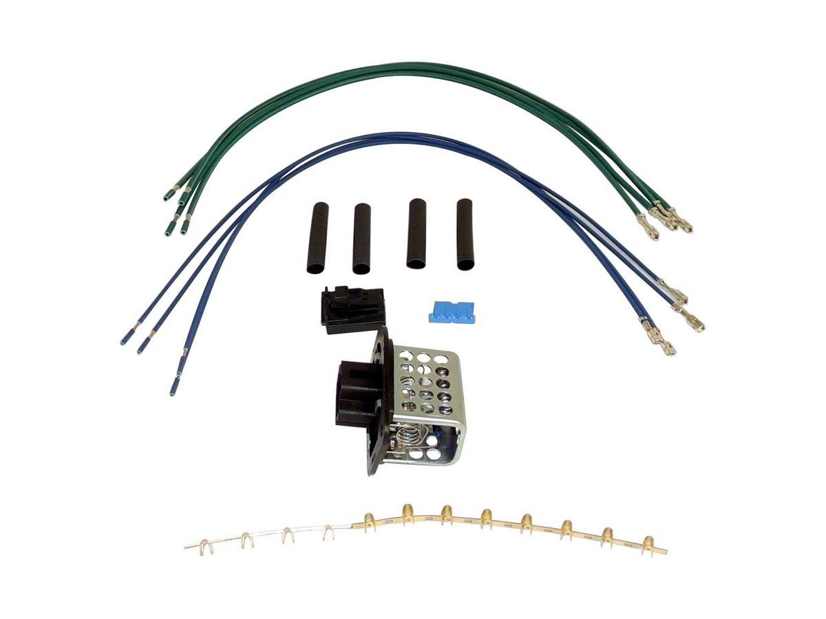 [WQZT_9871]  Jeep Wrangler Blower Motor Resistor Kit (97-06 Jeep Wrangler TJ) | Hot Jeep Tj Trailer Wiring Harness |  | ExtremeTerrain
