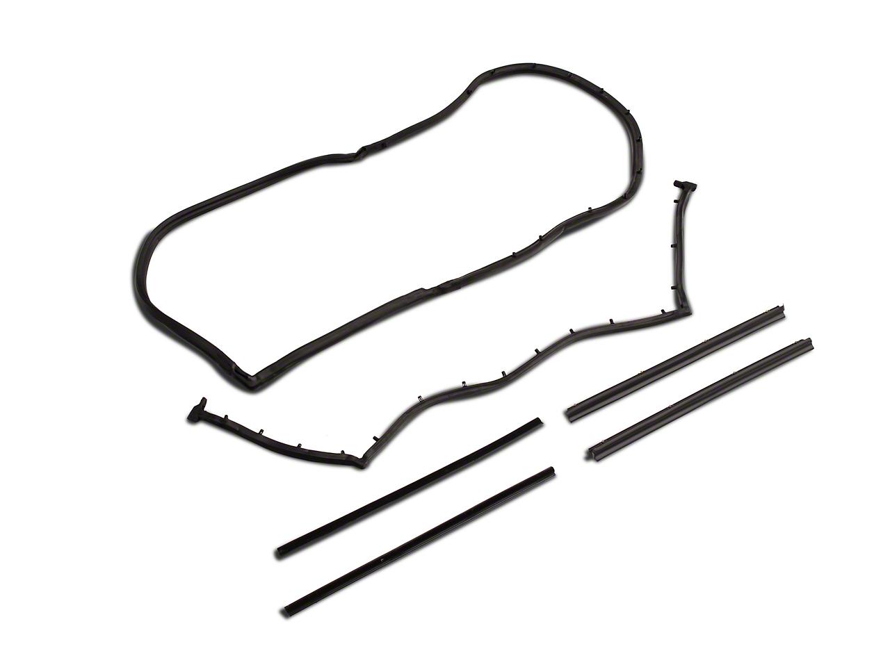 Crown Automotive Complete Weatherstrip Kit (87-95 Jeep Wrangler YJ)
