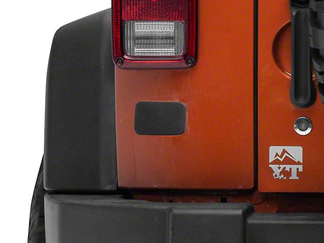 License Plate Bracket Delete (07-18 Jeep Wrangler JK)