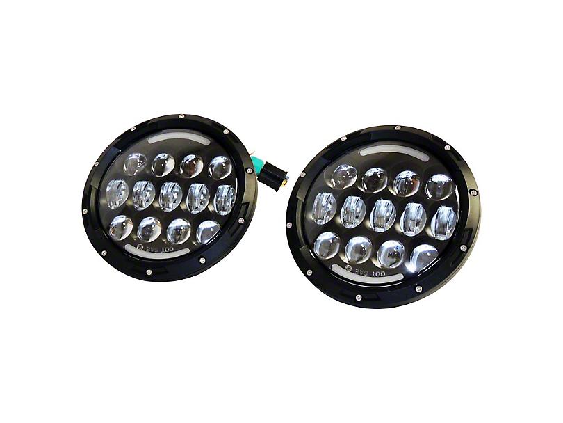 LED Headlights (97-18 Jeep Wrangler TJ & JK)