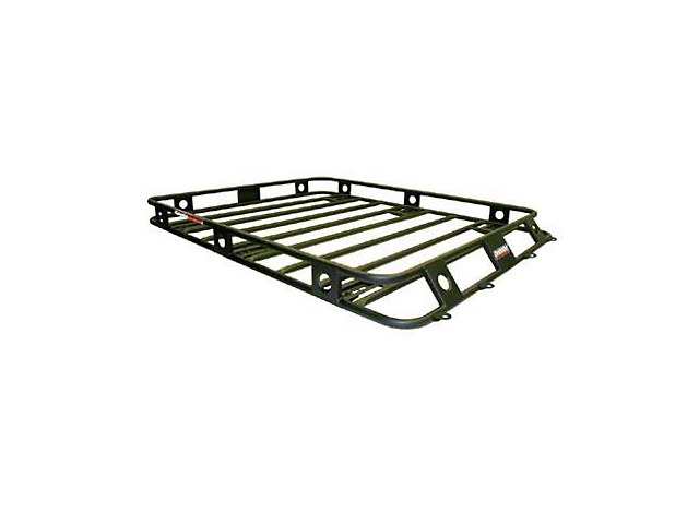 Smittybilt Welded One-Piece Defender Roof Rack - 4.5 ft. x 6.5 ft. (04-06 Jeep Wrangler TJ Unlimited)