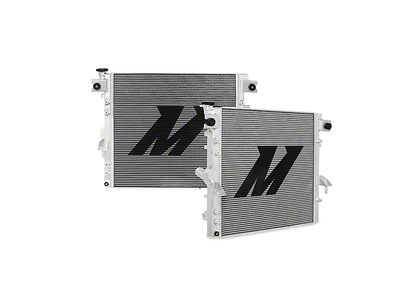 Mishimoto V2 Performance Aluminum Radiator (07-18 Jeep Wrangler JK)
