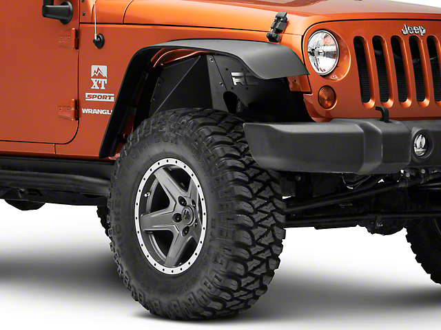 Rough Country Front Inner Fenders (07-18 Jeep Wrangler JK)
