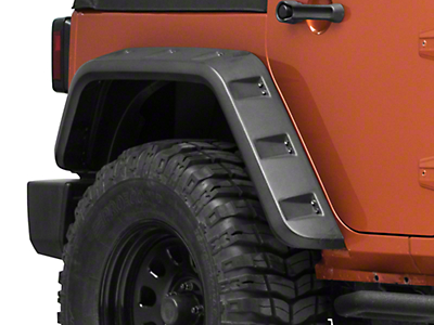 Rough Country Rear Inner Fenders (07-18 Jeep Wrangler JK)