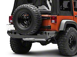 Westin WJ2 Rear Bumper - Textured Black (07-18 Jeep Wrangler JK)