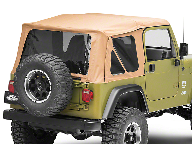 Rough Country Replacement Soft Top; Spice (97-06 Jeep Wrangler TJ w/ Full Doors, Excluding Unlimited)