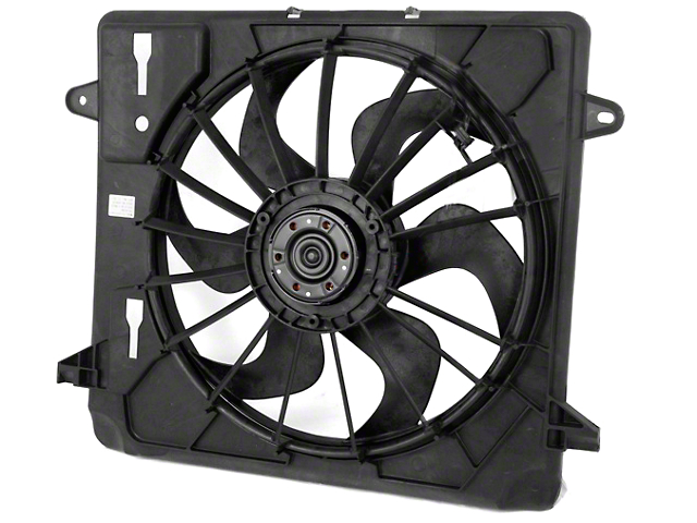 Cooling Fan Assembly (07-11 3.8L Jeep Wrangler JK)