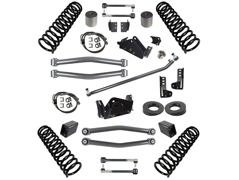 Synergy Jeep Wrangler 3 in. Suspension Lift Kit for Right