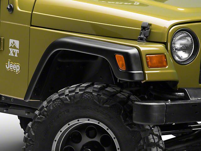 4-Piece Fender Flares (97-06 Jeep Wrangler TJ)