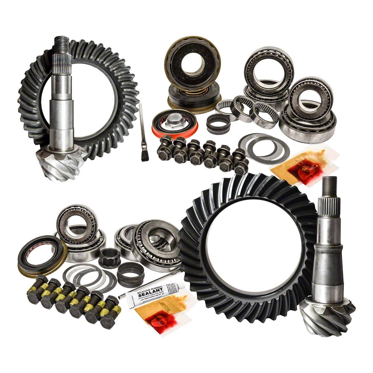 Jeep Wrangler YJ XJ Dana 30 Reverse 5.13 Ring and Pinion Master USA Gear Pkg