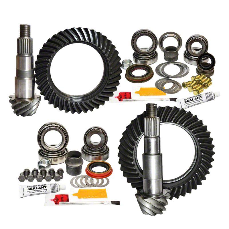 Nitro Gear & Axle Dana 30 Front Axle/44 Rear Axle Ring Gear and Pinion Kit - 4.11 Gears (07-18 Jeep Wrangler JK, Excluding Rubicon)